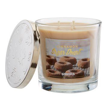 SONOMA Goods for Life™ 14-oz. Cinnamon Sugar Donut Candle Jar