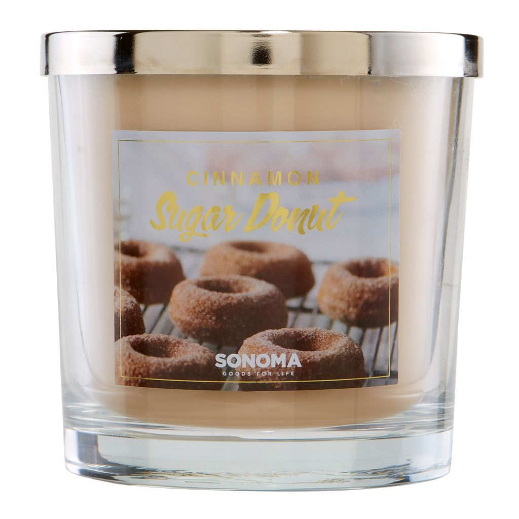 SONOMA Goods for Life™ 14-oz. Cinnamon Sugar Donut Candle Jar