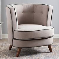 Baxton Studio Albany Modern Accent Chair