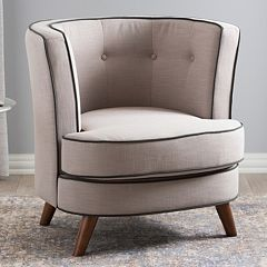 Baxton Studio Albany Modern Accent Chair  by
