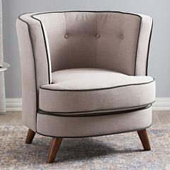 Baxton Studio Albany Modern Accent Chair