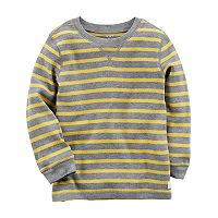 Toddler Boy Carter's Striped Thermal Long Sleeve Tee