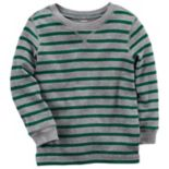 Toddler Boy Carter's Striped Thermal Tee