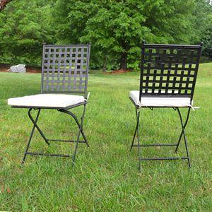 Cambridge Outdoor Folding Chair 2-piece Set