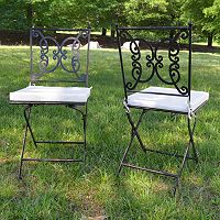 Regency Outdoor Folding Chair 2-piece Set