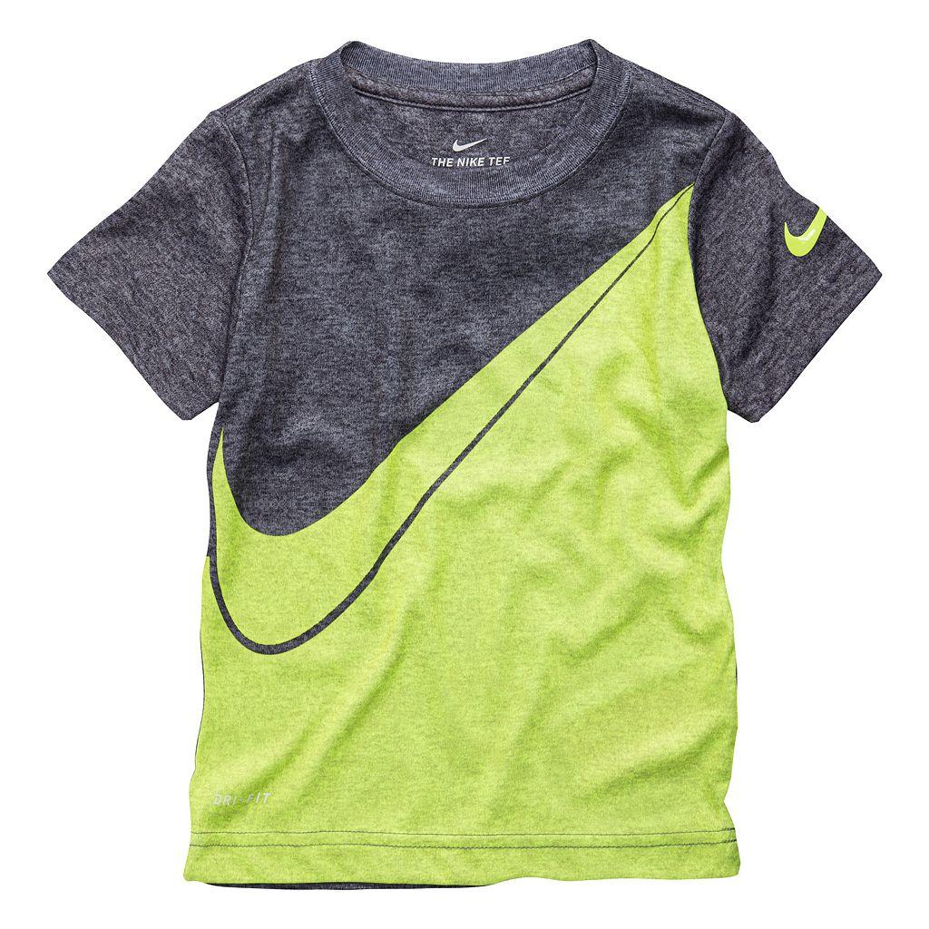 Toddler Boy Nike Dri-FIT Colorblock Tee