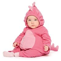 Baby Girl Carter's Pink Little Monster Microfleece Costume & Bottoms Set