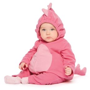 Baby Girl Carter's Pink Little Monster Microfleece Costume & Bottoms Set