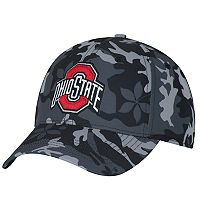 Adult Ohio State Buckeyes Camo Adjustable Cap