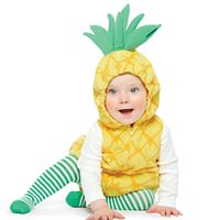Baby Girl Carter's Little Pineapple Microfleece Costume, Tee & Tights Set