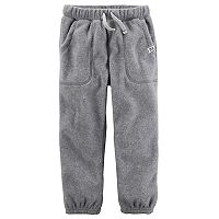 Toddler Boy Carter's Fleece Jogger Pants