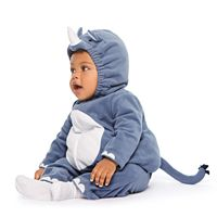 Baby Boy Carter's Little Rhino Microfleece Costume & Bottoms Set