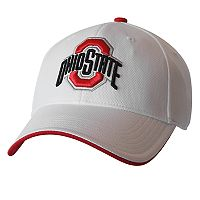 Adult Ohio State Buckeyes Pinpoint Cool Adjustable Cap