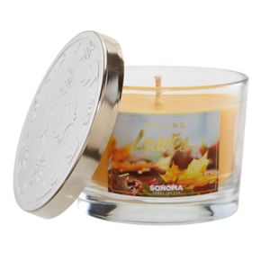 SONOMA Goods for Life? 5-oz. Falling Leaves Candle Jar