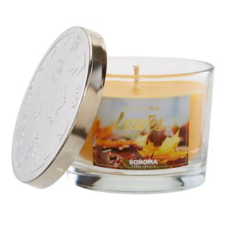 SONOMA Goods for Life™ 5-oz. Falling Leaves Candle Jar