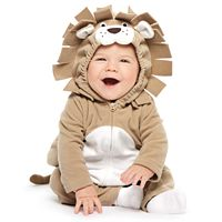 Baby Boy Carter's Little Lion Microfleece Costume & Bottoms Set