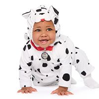 Baby Boy Carter's Little Dalmatian Dog Microfleece Costume & Bottoms Set