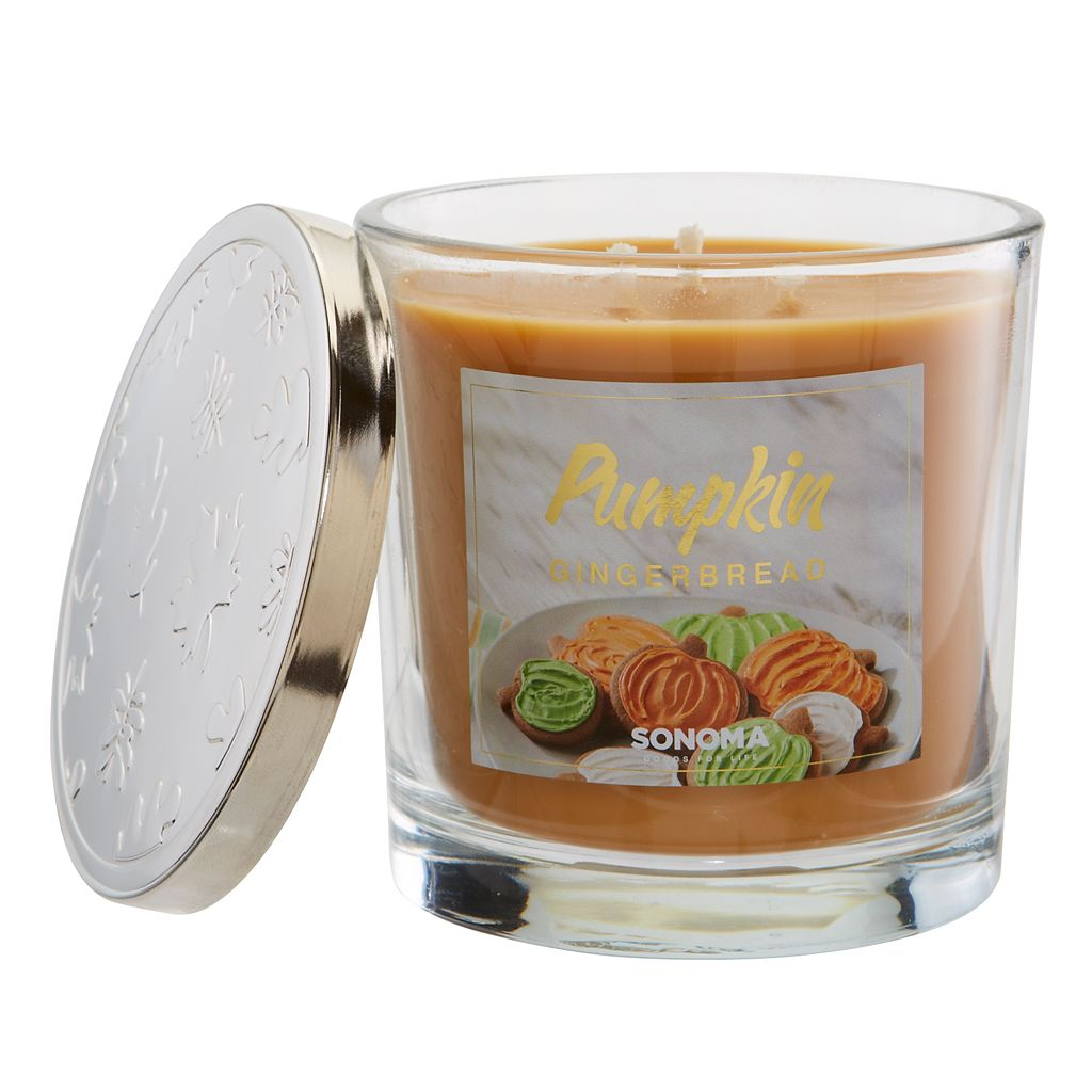 SONOMA Goods for Life™ 14-oz. Pumpkin Gingerbread Candle Jar