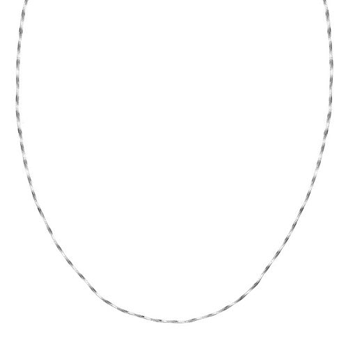 PRIMROSE Sterling Silver Twisted Snake Chain Necklace - 20 in.