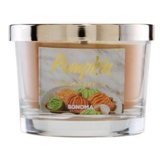 SONOMA Goods for Life™ 5-oz. Pumpkin Gingerbread Candle Jar