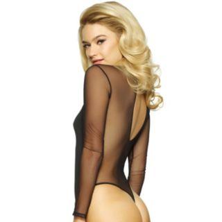 Women's Jezebel Kirsten Long Sleeve Thong Bodysuit 999804