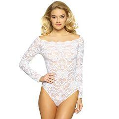 Women's Jezebel Eliza Off Shoulder Lace Bodysuit