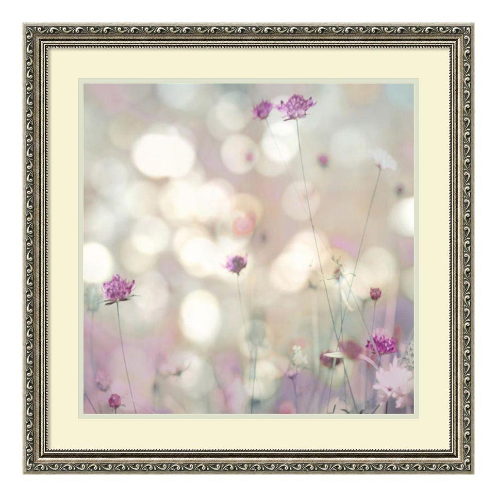 Amanti Art Floral Meadow I Framed Wall Art