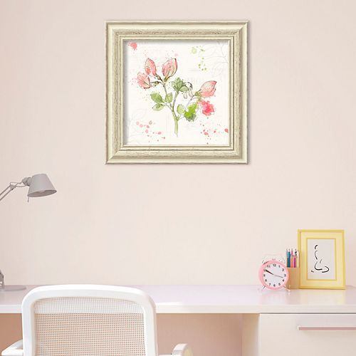 Amanti Art Floral Splash II Framed Wall Art