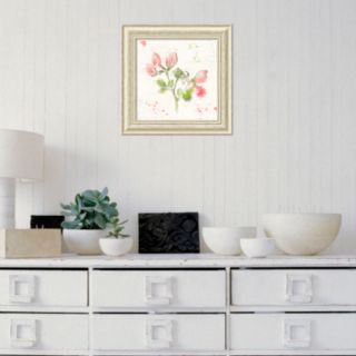 Amanti Art Floral Splash II Framed Wall Art