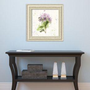 Amanti Art Floral Splash III Framed Wall Art