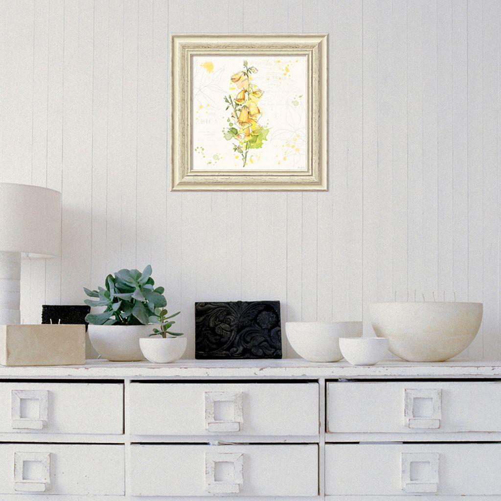 Amanti Art Floral Splash IV Framed Wall Art