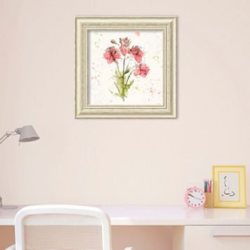 Amanti Art Floral Splash V Framed Wall Art