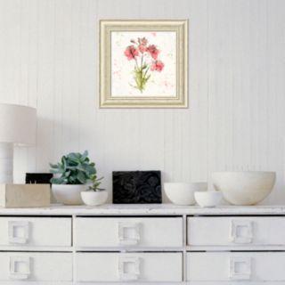 Amanti Art Floral Splash V Framed Wall Art
