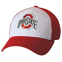 Adult Ohio State Buckeyes Fearless and True Colorblock Flex-Fit Cap