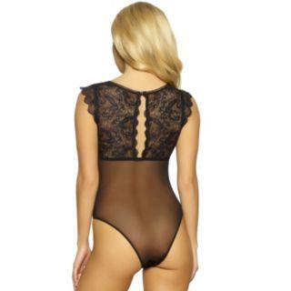 Jezebel Eleanor Lace & Mesh Bodysuit 999809