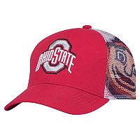 Youth Ohio State Buckeyes Mascot Snapback Cap