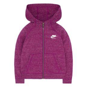 Girls 4-6x Nike Vintage Gym Zip-Front Hoodie