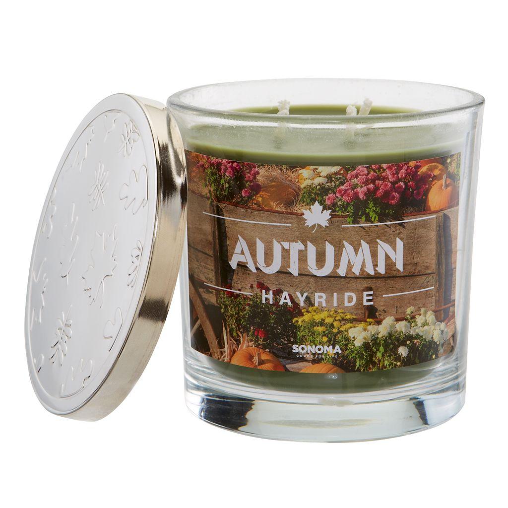 SONOMA Goods for Life™ 14-oz. Autumn Hayride Candle Jar