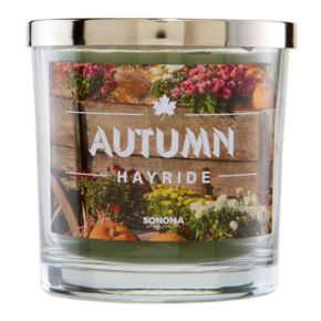 SONOMA Goods for Life™ 14-oz. Autumn Hayride Candle Jar