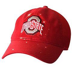 Adult Ohio State Buckeyes Team Shine Mesh Snapback Cap
