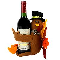 Celebrate Fall Together Turkey Hugger Wine Bottle Cover
