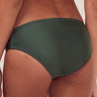 Women's LC Lauren Conrad Beach Shop Ruched Bikini Bottoms