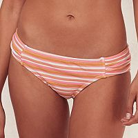 Women's LC Lauren Conrad Beach Shop Ruched Bikini Bottoms