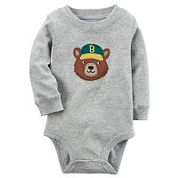 Baby Boy Carter's Bear Applique Bodysuit