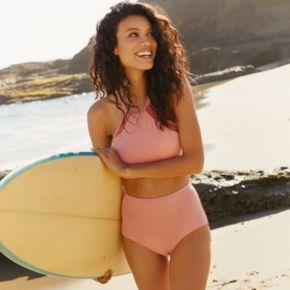 Women's LC Lauren Conrad Beach Shop High-Neck Bikini Top