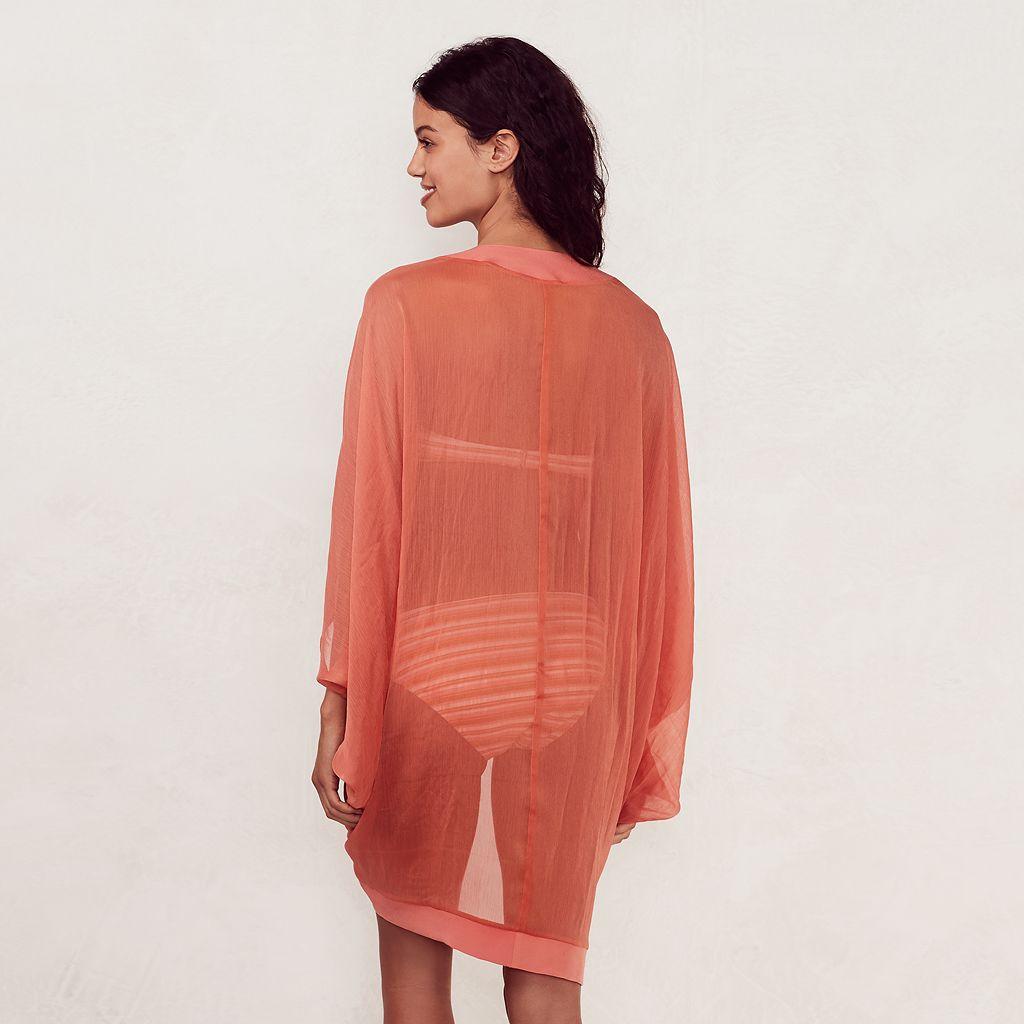 Women's LC Lauren Conrad Beach Shop Kimono Cover-Up