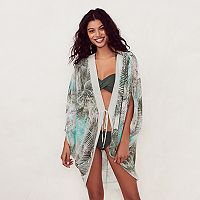 Women's LC Lauren Conrad Beach Shop Kimono Cover-Up