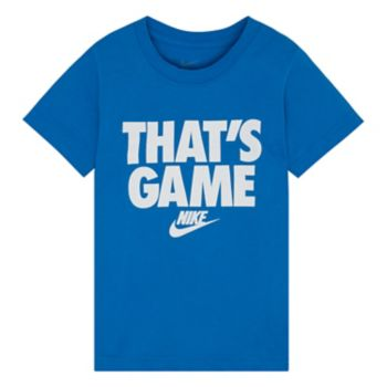 """Boys 4-7 Nike """"That's Game"""" Graphic Tee"""