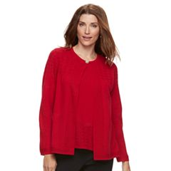 Petite Napa Valley 2-Fer Sweater