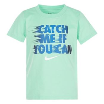 """Boys 4-7 Nike """"Catch Me If You Can"""" Graphic Tee"""